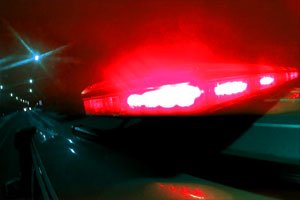 Emergency vehicles siren lights