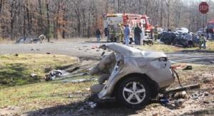 Fatal multi-vehicle accident, Mineola, TX