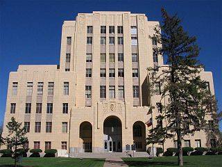 Potter County Courthouse in Amarillo TX