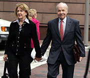 Former Enron CEO Ken Lay and his wife Linda are set for the defense to present their case next week.