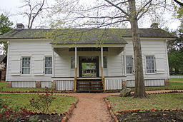 Sam Houston's home in Huntsville
