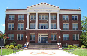 Wood County Courthouse in Quitman by Larry D. Moore